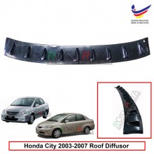 Honda City (4th Gen) 2002-2008 Vortex Generator Shark Fin Aerodynamic Rear Top Roof Diffuser Diffusor