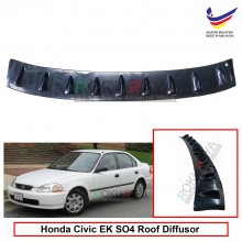 Honda Civic EK SO4 (6th Gen) 1995-2000 Vortex Generator Shark Fin Aerodynamic Rear Top Roof Diffuser Diffusor
