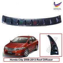 Honda City (5th Gen) 2008-2013 Vortex Generator Shark Fin Aerodynamic Rear Top Roof Diffuser Diffusor