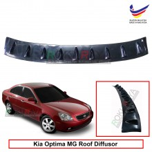 Kia Optima MG (2nd Gen) 2005-2010 Vortex Generator Shark Fin Aerodynamic Rear Top Roof Diffuser Diffusor