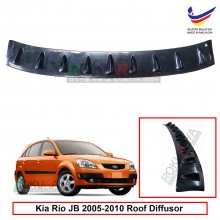 Kia Rio JB (2nd Gen) 2005-2010 Vortex Generator Shark Fin Aerodynamic Rear Top Roof Diffuser Diffusor