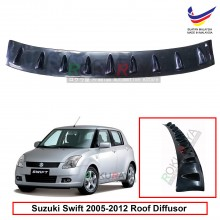 Suzuki Swift (2nd Gen) 2005-2012 Vortex Generator Shark Fin Aerodynamic Rear Top Roof Diffuser Diffusor