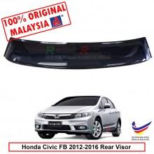 Honda Civic FB (9th Gen) 2012-2016 AG Rear Wing Spoiler Visor Windscreen Sun Shade (Big 20cm)