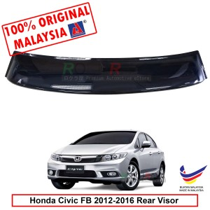 Honda Civic FB (9th Gen) 2012-2016 AG Rear Wing Spoiler Visor Windscreen Sun Shade (Big 20cm)