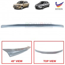 Proton Saga BLM FL FLX (2nd Gen) 2008-2016 Ducktail ABS Plastic OEM Rear Bonnet Trunk Boot Lip Spoiler (Grey)