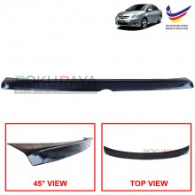 Toyota Vios XP90 (2nd Gen) 2007-2013 Ducktail ABS Plastic OEM Rear Bonnet Trunk Boot Lip Spoiler (Black)