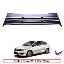 Proton Preve 2012 OEM Plastic ABS Rear Windscreen Sun Shade Guard 3 Step Air Terjun