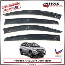 Perodua Aruz 2019 AG Door Visor Air Press Wind Deflector (Big 12cm Width)