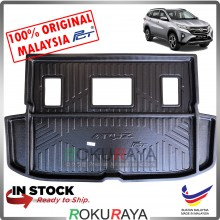Perodua Aruz 2019 Custom Fit Original PE Non Slip Rear Trunk Boot Cargo Tray