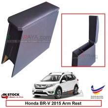 Honda BRV BR-V 2015 4' Plywood PVC Armrest Center Console Box (Black)