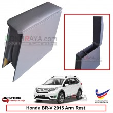 Honda BRV BR-V 2015 4' Plywood PVC Armrest Center Console Box (Grey)
