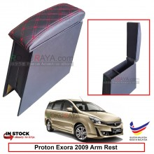 Proton Exora 4' Plywood PVC Armrest Center Console Box (Sponge+Diamond)