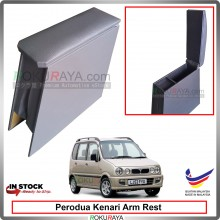 Perodua Kenari 4' Plywood PVC Armrest Center Console Box (Grey)