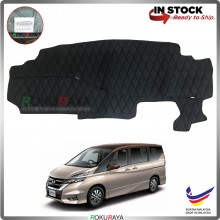 Nissan Serena MkV C27 (5th Gen) 2017 RR Malaysia Custom Fit Dashboard Cover (BLACK LINE)