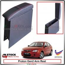 Proton Gen2 4' Plywood PVC Armrest Center Console Box (Redline+Sponge)