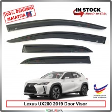 Lexus UX200 2019 AG Door Visor Air Press Wind Deflector (Medium 8cm Width)