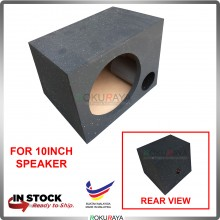 10'' 1Hole Single Sub Woofer Speaker Hot Box Mixture 6' and 4' Thickness Plywood