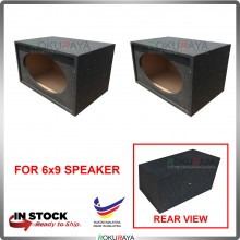 6x9'' 2Hole Double Seperate Sub Woofer Speaker Hot Box 4' Thickness Plywood
