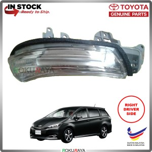 Toyota Wish AE20 (2nd Gen) 2009 OEM Genuine Parts Side Mirror Turn Signal LED Light Blinker (RIGHT)