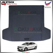 Proton Preve Custom Fit 15mm Rear Bonnet Spare Tyre Tire Tayar Cover Back Hard Board Papan (Carpet Wrapped)