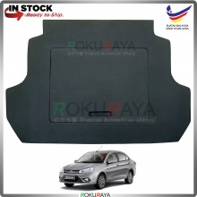 Proton Saga VVT (3rd Gen) 2016 Custom Fit 15mm Rear Bonnet Spare Tyre Tire Tayar Cover Back Hard Board Papan (Carpet Wrapped)
