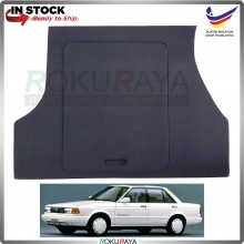 Nissan Sentra B12 Custom Fit 15mm Rear Bonnet Spare Tyre Tire Tayar Cover Back Hard Board Papan (Carpet Wrapped)