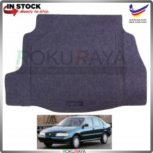 Nissan Sentra B14 Custom Fit 15mm Rear Bonnet Spare Tyre Tire Tayar Cover Back Hard Board Papan (Carpet Wrapped)