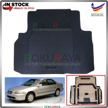 Honda Accord S84 S86 Custom Fit 15mm Rear Bonnet Spare Tyre Tire Tayar Cover Back Hard Board Papan (Carpet Wrapped)