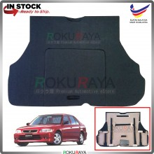 Honda City SX8 Custom Fit 15mm Rear Bonnet Spare Tyre Tire Tayar Cover Back Hard Board Papan (Carpet Wrapped)