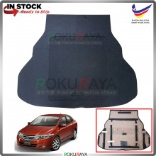 Honda City (5th Gen) 2008-2013 Custom Fit 15mm Rear Bonnet Spare Tyre Tire Tayar Cover Back Hard Board Papan (Carpet Wrapped)