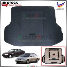 Honda Civic ES Custom Fit 15mm Rear Bonnet Spare Tyre Tire Tayar Cover Back Hard Board Papan (Carpet Wrapped)