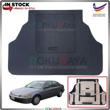 Honda Civic EG SR4 Custom Fit 15mm Rear Bonnet Spare Tyre Tire Tayar Cover Back Hard Board Papan (Carpet Wrapped)