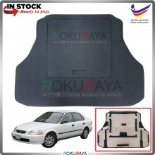 Honda Civic EK SO4 Custom Fit 15mm Rear Bonnet Spare Tyre Tire Tayar Cover Back Hard Board Papan (Carpet Wrapped)