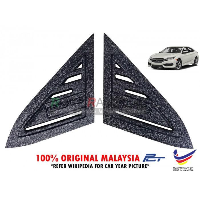 Honda Civic Fc G10 10th Gen 2016 Rear Triangle Side