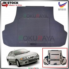 Proton Perdana (1st Gen) 1995-2010 Custom Fit 15mm Rear Bonnet Spare Tyre Tire Tayar Cover Back Hard Board Papan (Carpet Wrapped)
