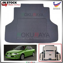 Proton Putra Custom Fit 15mm Rear Bonnet Spare Tyre Tire Tayar Cover Back Hard Board Papan (Carpet Wrapped)
