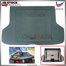 Proton Saga Iswara Aeroback (1st Gen) Custom Fit 15mm Rear Bonnet Spare Tyre Tire Tayar Cover Back Hard Board Papan (Carpet Wrapped)