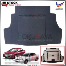 Nissan Sentra N16 G10 Custom Fit 15mm Rear Bonnet Spare Tyre Tire Tayar Cover Back Hard Board Papan (Carpet Wrapped)
