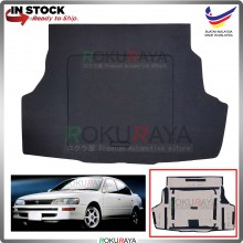 Toyota Corolla AE100 SEG101 Custom Fit 15mm Rear Bonnet Spare Tyre Tire Tayar Cover Back Hard Board Papan (Carpet Wrapped)