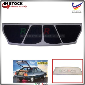 Proton Saga Iswara Aeroback (1st Gen) 1985-2008 Custom Fit Rear Top Speaker Board 12mm Thick (PVC Wrapped)