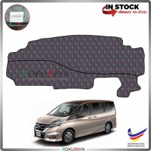 Nissan Serena MkV C27 (5th Gen) 2017 RR Malaysia Custom Fit Dashboard Cover (RED LINE)