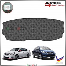 Nissan Almera N17 2011 RR Malaysia Custom Fit Dashboard Cover (BLACK LINE)