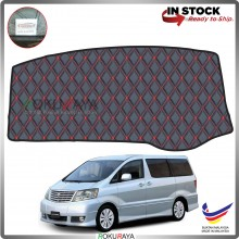 Toyota Alphard ANH10 (1st Gen) 2002-2007 RR Malaysia Custom Fit Dashboard Cover (RED LINE)