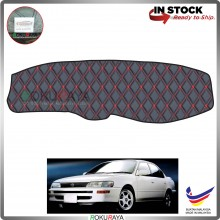Toyota Corolla AE100 SEG101 (7th Gen) 1991-1995 RR Malaysia Custom Fit Dashboard Cover (RED LINE)