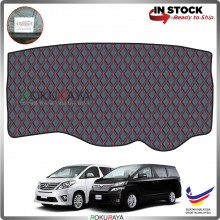 Toyota Alphard Vellfire AH20 (2nd Gen) 2008-2015 RR Malaysia Custom Fit Dashboard Cover (RED LINE)