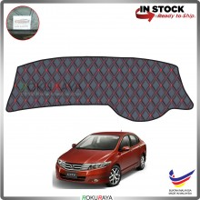 Honda City (5th Gen) 2008-2013 RR Malaysia Custom Fit Dashboard Cover (RED LINE)