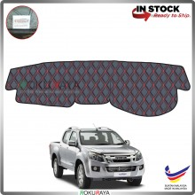 Isuzu D-max Dmax (2nd Gen) 2013 RR Malaysia Custom Fit Dashboard Cover (RED LINE)