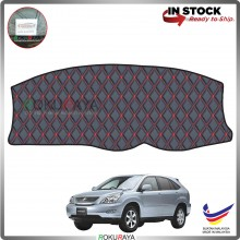 Toyota Harrier XU30 (2nd Gen) 2004 RR Malaysia Custom Fit Dashboard Cover (RED LINE)