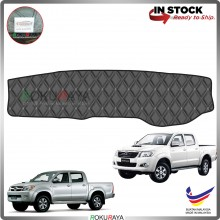 Toyota Hilux Vigo (7th Gen) 2004-2015 RR Malaysia Custom Fit Dashboard Cover (BLACK LINE)