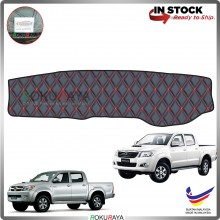 Toyota Hilux Vigo (7th Gen) 2004-2015 RR Malaysia Custom Fit Dashboard Cover (RED LINE)